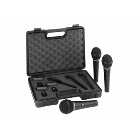 Microfone Behringer Xm1800s Kit C/3 Na Cheiro De Música Loja