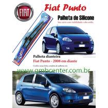Palheta Automotiva Silicone Vto Flex Especifica Fiat Punto