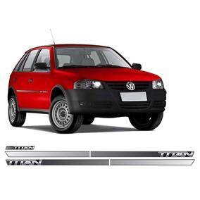 Kit Adesivo Lateral E Traseiro Volkswagen Gol Titan G4