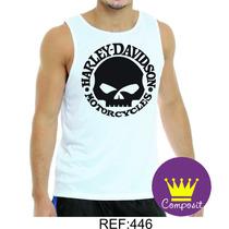 Regata Camisa Harley Davidson - Sons Of Anarchy - Samcro 04