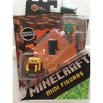 Minecraft Mini Figuras Serie 3 Sujeto A Disponibilidad