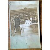 Postal Antiguo Boliche Bar Almacen 1900