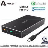 Cargador Portátil Aukey Pb-t10 20000mah - Carga Rapida 3.0
