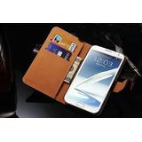 Funda Case Piel Samsung Galaxy Note 2 N7100 Envió Gratis!!