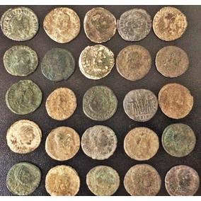 Lote 25 Moedas Antigas Império Romano Era De Constantine I