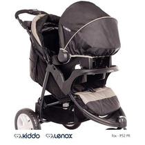 Carrinho Bebe 3 Rodas Travel System Fox C/ Bebe Conforto Pt