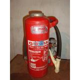 Extintor De 10 K. Con Válvula De Botella.