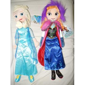 Frozen - Boneca Anna Pélucia