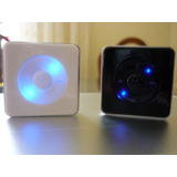 Reproductor Mp3 Tipo Cubo, Luz Led Con Audifonos Y Cable Usb