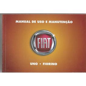 Manual Proprietário Uno Ou Fiorino 2010 Complet Frete Grátis