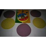 Adaptador+disco Vel-kroo+5 Lixas P/ Furadeira Frete R$ 9,00