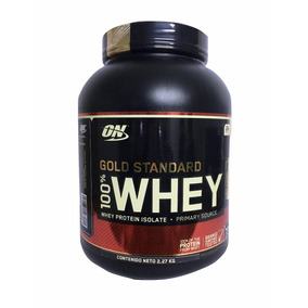 Proteina Gold Standard 100% Whey 5 Lb Platano