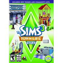The Sims 3 Town Life Stuff Expansion, Pc/mac -blakhelmet Nsp