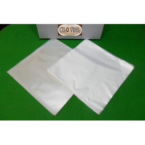 200 Plásticos Lp Vinil 100 Extra Grosso 0,20 + 100 Internos