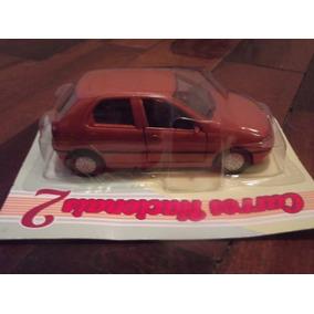 Miniatura Carros Nacionais Fiat Palio 1995 Jornal Extra