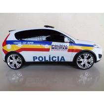 Miniatura Viatura Polícia Militar Pmmg Minas Gerais Palio.