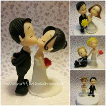 Adorno De Bodas Casamiento, Porcelana Fria