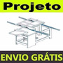 Projeto Mecânico De Serra Esquadrejadeira P Marcenaria Ebook