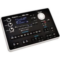 Modulo Roland Bk7m Na Cheiro De Música Loja Autorizada !!