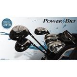 Juego Completo Golf Cab Powerbilt Envio Gratis! Golf Center