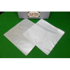 200 Plásticos P/ Lp Vinil - 100 Externos 0,15 + 100 Internos
