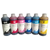 4 Botes De Tinta Inktec Epson L110 L200 L210 L350 L355 500ml