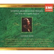 Marta Argerich & Friends - Lugano 2002-2004 - Edición 3 Cds