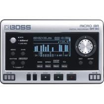 Gravador Boss Br80 Na Cheiro De Música Loja Autorizada !!