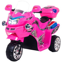 Moto Infantil Niños Bateria 3 Ruedas Lil