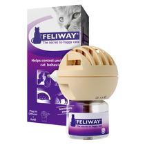 Feliway Completo Ceva - Difusor Eletrico + Refil 48 Ml