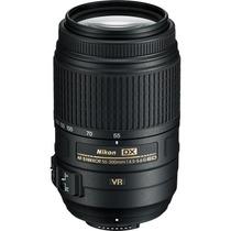 Lente Nikon Af-s 55-300mm F/4.5-5.6g Ed Vr + Recibo Venda