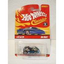 Hot Wheels Classics Go Kart Azul 22/25