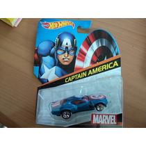 Hot Wheels Marvel Capitan America