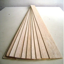 Madera Balsa Plancha 2 Mm. Pack 10 Unidades