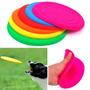 Juguete Perros Frisbee Silicona De Colores - Once, Envios