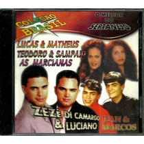 Cd / Melhor Do Sertanejo = Zezé, As Marcianas, Jean E Marcos