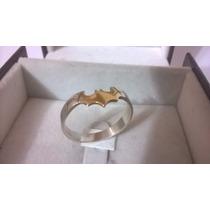 Anel Morcego Batman Em Prata