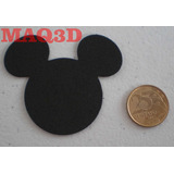 Aplique Eva Mickey / Minnie Grande De 7cm Com 30 Unidades