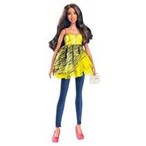 Juguete Barbie Todo El Dolled Encima Stardoll Morena Muñeca