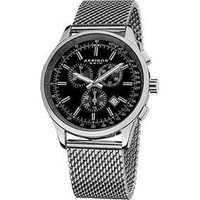 Reloj Akribos Xxiv Ak625ssb Plateado Masculino