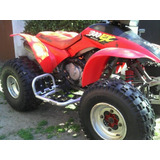 Pisaderas Cuatri Itvparts Honda Trx 200-trx 300 Con Talonera