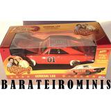 1:24 Dodge Charger Rt 1969 - General Lee - Os Gatões Oficial