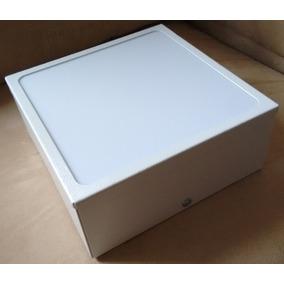 Plafon De Sobrepor Quadrado Branco 20x20x8 Acrílico Leitoso