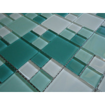 Pastilha De Vidro Mondrian - Cristal_revestimentos_mosaicos
