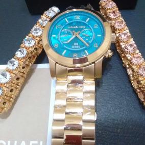 Relogio Mk 8315 De Luxo Michael Kors - Relógios De Pulso no Mercado ... af9ac9652f