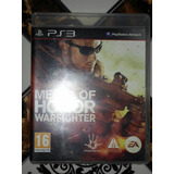 Juego De Ps3 Medalla De Honor Medal Of Honor Warfighter
