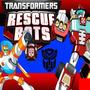 Kit Transformers Rescue Bots Diseñá Tarjetas Cajas Cotillón