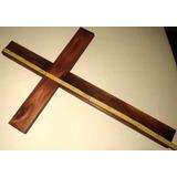 Cruz Catolica De Madera Grande