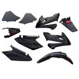 Kit De Plasticos Completo Honda Tornado 250 Negro Fas Motos!