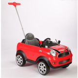 Andarin Push Car Mini Coopers Manija Arrastre Kiddy + Envio